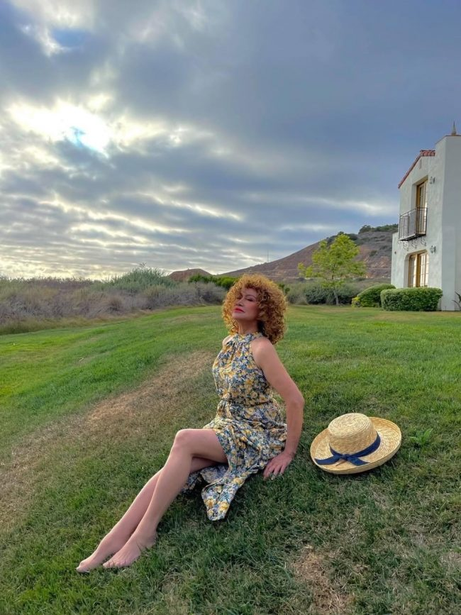 Author Singer Actress Producer Lourdes Duque Baron Living Like 74 is the New 34 - Diversity News Magazine
