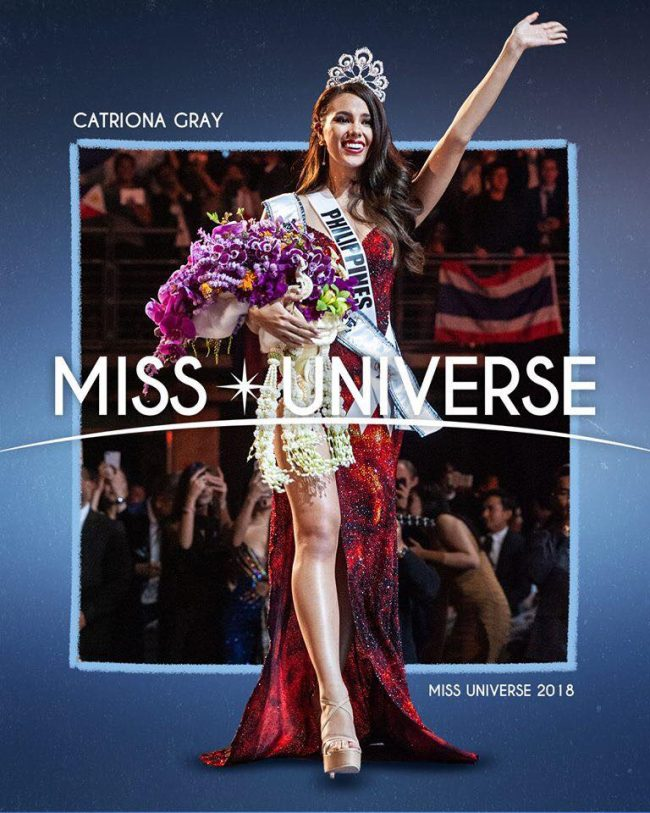 Mabuhay! Catriona Gray from Philippines Crowned Miss Universe 2018