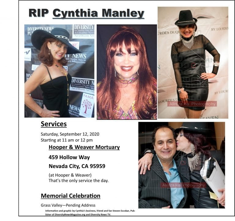 Boys Town Gang Lead Singer Cynthia Manley Died – Services and Memorial Celebration September 12, 2020