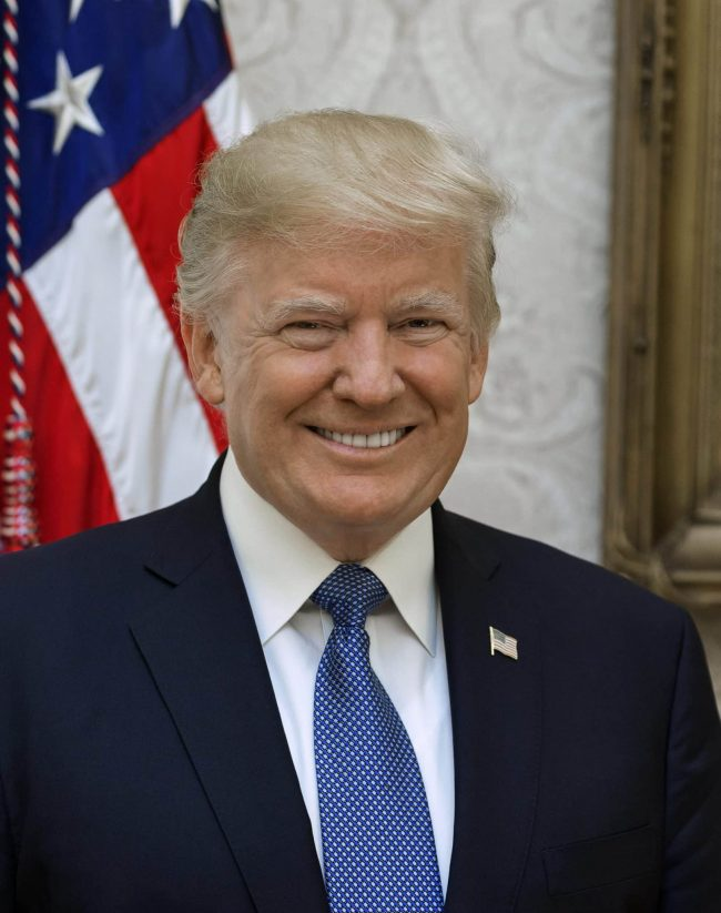 Donald J. Trump 45th President of the United States Impeached Again
