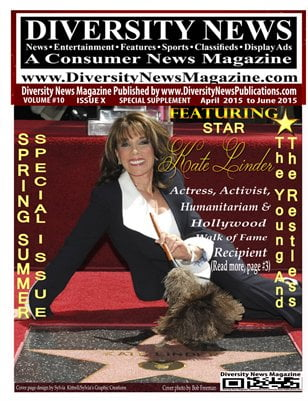 Hollywood Star Recipient and Actress Kate Linder from The Young and the Restless featured on Diversity News Magazine
